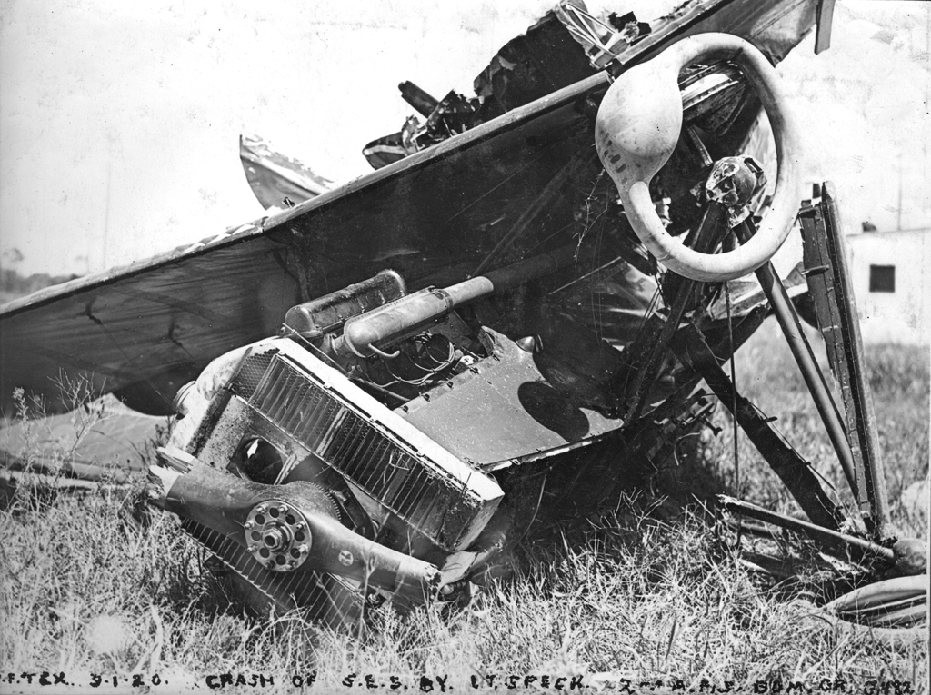 Crash of Speck's SE5A